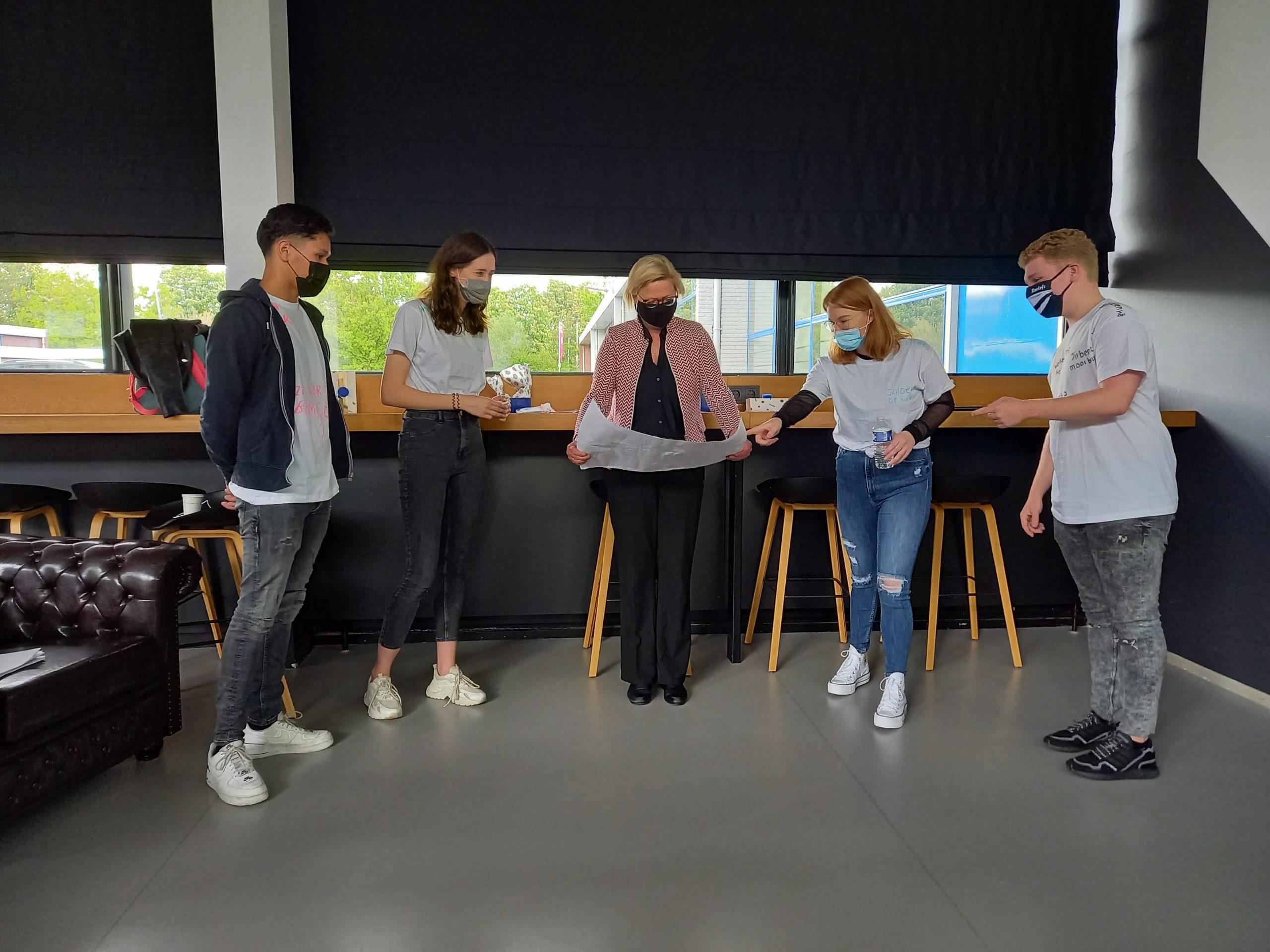 tussentijdse presentaties CMD (Communication &Media Design) studenten van de Academie IT en Mediadesign van de HAN